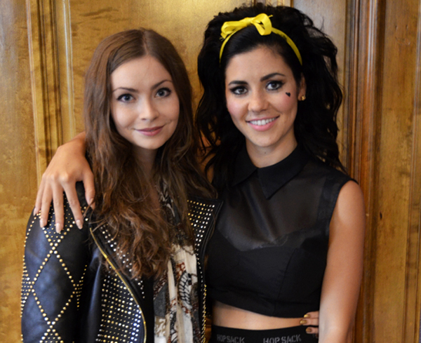 Marina and The Diamonds interview 2012 Gosia Machaczka supertonic