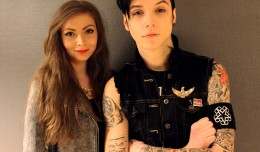 HEADER Andy Biersack Black Veil Brides 2013 interview Gosia Machaczka intervju SUPERTONIC