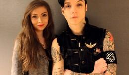 HEADER Andy Biersack Black Veil Brides 2013 interview Gosia Machaczka intervju SUPERTONIC