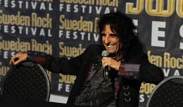 Alice Cooper presskonferens 2014 interview Sweden Rock Festival